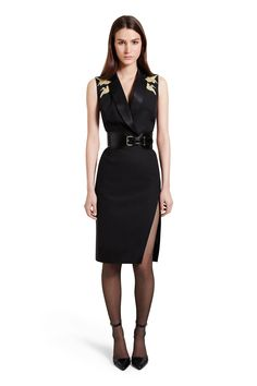Altuzarra For Target Black Gold Crane Dress $14.98