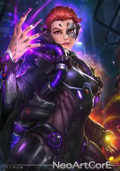 Image result for overwatch moira fanart
