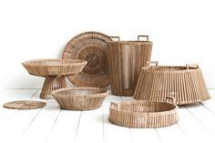 Baskets by Dutch designer Piet Hein Eek for Fair Trade Original.