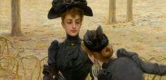 Spettegolare nell' Ottocento