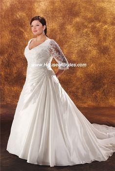 House of Brides - Plus Size Wedding Dress. Stunning!