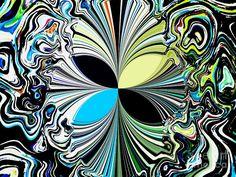 Contemporary Digital Art | ... Art Digital Art - Abstract Butterfly A Modern Contemporary Digital Art