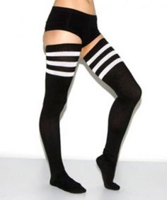 American Apparel Thigh High Socks <3