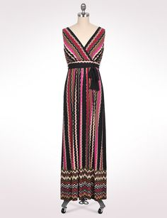 56662c0b372f6 Maxi Dress | dressbarn- would be cute with pink sweater and black boots  during the fall