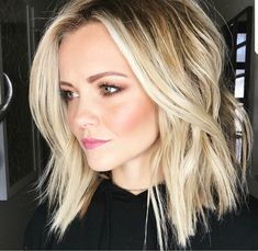 Debating on whether or not to chop my hair #newyearnewdo #haircut #blonde