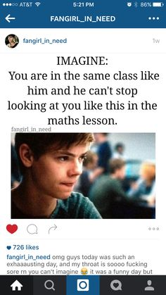 Me: *trying to figure out a hard math problem * Newt: *thows. Me a paper air plane,* teacher: mr. Newton! No throwing paper air planes in class! Detention! Me: * you open up the note, and the answer to the math problem is written on it. You smile.* Newt: *just as he's going through the door to go to detention, he smiles back*