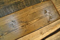 Making New Wood Look Old | Young House Love    Love this idea! Im going to make a new table top for our old table outside and this was just the right stuff to learn before I get started on it ;)
