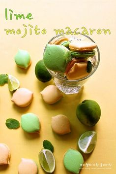 lime mojito macaron  http://blog.naver.com/asy1347551/220135711979