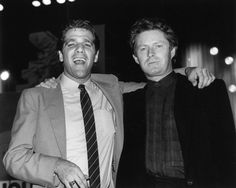 """We are all in a state of shock, disbelief and profound sorrow. We brought our two-year 'History of the Eagles Tour' to a triumphant close at the end of July and now he is gone,"" Don Henley said of his friend and bandmate, Glenn Frey. The two are pictured here at the 2nd Annual MTV Awards on Sept. 18, 1985."