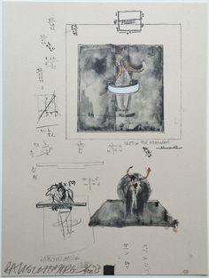 Robert Rauschenberg, Untitled @artsy