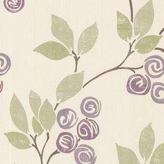 "Brewster Home Fashions Bath Bath Bath Volume IV Geisha Trail 33' x 20.5"" Floral and Botanical 3D Embossed Wallpaper"