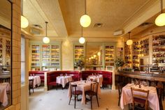 Updated French on the Bowery, nostalgic environment, Balthazar group