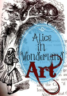 Alice in Wonderland Art - This site has several wonderful Alice in Wonderland projects for all Alice lovers - check it out and discover things you'd love to do! Alice In Wonderland Theme, Adventures In Wonderland, Wonderland Party, Go Ask Alice, Were All Mad Here, Mad Hatter Tea, Through The Looking Glass, Disney Crafts, Disney Drawings