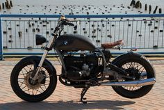 Carbon Fiber BMW Bobber Motorcycle