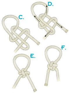 How to tie a Japanese success knot