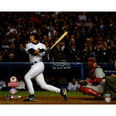 Aaron Boone Signed 2003 ALCS GW HR vs Red Sox Swing 16X20 Horizontal Photo w 03 GWHR ALCS - Aaron Boone has personally hand-signed this 2003 ALCS GW HR vs Red Sox Swing Horizontal 16x20 and inscribed it 03 GWHR ALCS-Aaron Boone took one of the biggest swings in the Yankees history a swing that landed the Yankees in the 2003 World Series. Leading off the bottom of the 11th inning of 2003 ALCS Game 7 against the Red Sox Boone sent a Tim Wakefield knuckleball deep into the Bronx night and into…