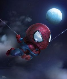 Spidy by kuchumemories9.deviantart.com on @DeviantArt