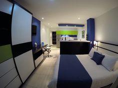 Habitación tipo Loft Suite en 2 ambientes.