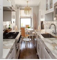 21 best small galley kitchen ideas small galley kitchens galley small gallery kitchen super chic white with brass and carrera small galley kitchensgalley kitchen designkitchen sisterspd
