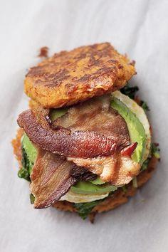 Sweet Potato Breakfast Sandwich
