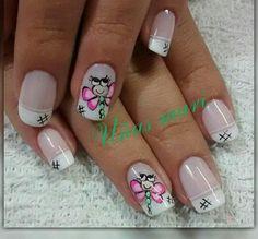 Cute Nail Designs, Hair Designs, Manicure, Akira, Cute Nails, Nail Art, Makeup, Designed Nails, Nail Art Designs