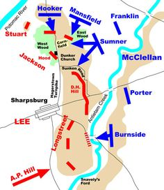 Antietam Battle Map