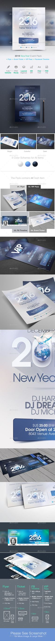 New Year Party Flyer Party flyer, Flyer template and Template - christmas party tickets templates