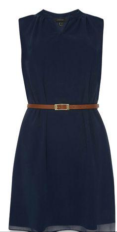 Blue dress Summer Primark 2015