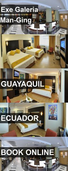 Hotel Exe Galeria Man-Ging in Guayaquil, Ecuador. For more information, photos, reviews and best prices please follow the link. #Ecuador #Guayaquil #travel #vacation #hotel