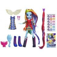 My Little Pony - Equestria Girls - lalka modna Rainbow Dash z akcesoriami