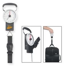 Luggage Scale with Tape Measure - perfect for the busy traveler! Only $3.95 for 50, with logo.