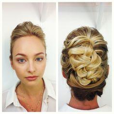 Winnie Couture Photoshoot - Santa Monica Ca - Hair by Dee - Bohemian Bride