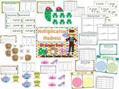 Wow! Here's a 50-page collection of activities on multiplication with a focus on 2s, 5s and 10s facts.