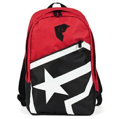 Left Coast Threads - Famous BOH Zip Backpack - Red/Black/White, $42.00 (http://www.leftcoastthreads.com/famous-boh-zip-backpack-red-black-white/)