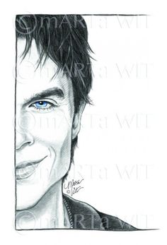 damon salvatore sketch fan vampire diaries drawings easy drawing zeichnen pencil cartoon cool coloring celebrity tvd sketches zeichnungen ideen face