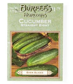 Burpee's is one of America's oldest seed suppliers, and also boasts a boutique heirloom line.