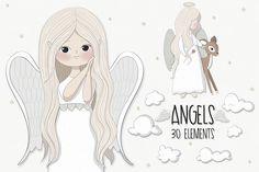 Little angels clipart - Free Design of The Week Ангелы PNG https://designbundles.net/free-design-of-the-week/rel=AJsh2y