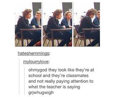 OMG OMG i think i loosing myself!!! Can u imagine this!! Teacher: We have two new students! Harry & Niall!! ahhhhhhhhhhhhhhh..