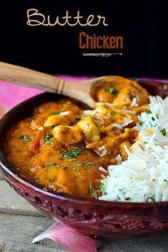 poulet beurre indien au Poulet au beurre indienYou can find How to cook chicken and more on our website Italian Soup Recipes, Italian Snacks, Indian Veg Recipes, Asian Recipes, Chinese Recipes, Chicken Recipes Thermomix, Meat Recipes, Healthy Dinner Recipes, Lemon Butter Chicken