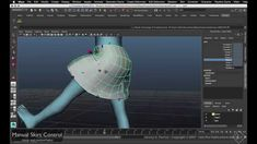 Skirt Control covers the basic setup for creating a set of floating influences, which will respond to leg deformations, displacing the skirt in kind. The set...