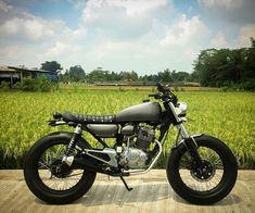 Inspirasi Motor Custom Japstyle Part 4 Custom Motorcycles, Custom Bikes, Cars And Motorcycles, Honda Scrambler, Cafe Racer Honda, Ducati, Yamaha, Brat Bike, Cafe Style
