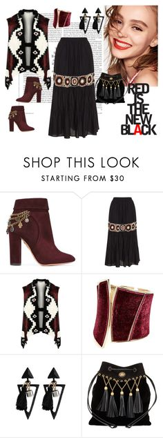 """""""77"""" by ingridient ❤ liked on Polyvore featuring Aquazzura, Mat, WearAll, Naomi Campbell, GUESS by Marciano, Miu Miu and plus size clothing"""