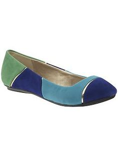 color blocking shoes? YES please