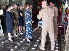 Princess Mary made a humanitarian aid visit to Mali