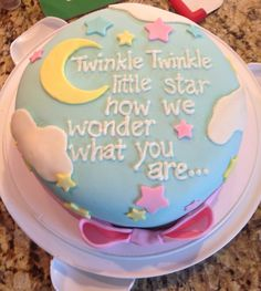 Gender reveal cake@mellipie @Cecilia Börjesson Gennovario congrats Melissa on ur pregnancy!!! I remember we were talking babies at Cecilia's bridal shower :)