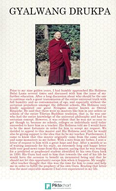 After a long discussion about who should be the one to continue such a great transmission of the entire universal truth with full humility and no contamination of ego, and especially without the sectarian prejudices amongst the different schools, His Holiness very kindly appointed one great Nyingma master known as Ontrul Rinpoche.
