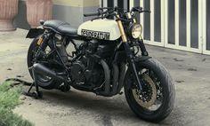 Honda Seven Fifty Brat Style Desiderátum #6 by Janjo #bratstyle #motos #motorcycles | Cafe Racer Pasión
