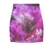 Azalea Moods mini skirt featuring the art of Carol Cavalaris.