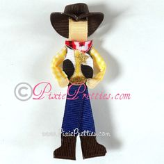 Woody hair bow