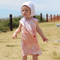 Over sized blush singlets for all our little beach babes